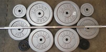 Weight Set 97,5kg (Not Negotiable,Boksburg-North)