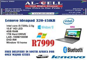 Lenovo Ideapad 80XL I5 -7200U-4GB-1TB-W10H