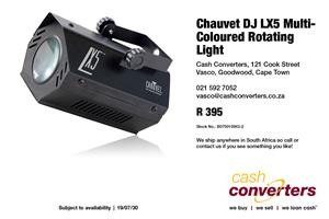 Chauvet DJ LX5 Multi-Coloured Rotating Light