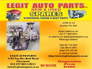 AUDI A3 GEARBOX FOR SALE
