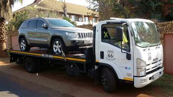 Car Towing & Car Transport KZN / Mooiriver to Gauteng.