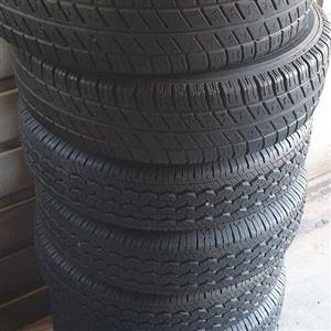 tyres and  rims ×8