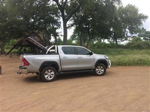 Deck canopy - fits Toyota 2.8GD6 Hilux Double Cab