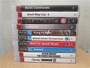 Playstation 3 games  Please see titles on photos .  All still in prestine condition.