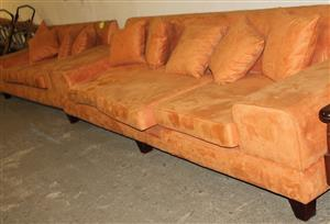 2 Piece lounge suite S030462A #Rosettenvillepawnshop
