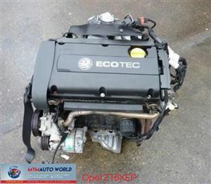 OPEL ASTRA H 1.6L ECOTEC, Z16XEP ENGINE,