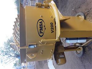 200L Pan mixer LIKE NEW