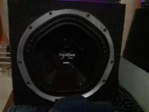 Starsound Amp and Sony subwoofer