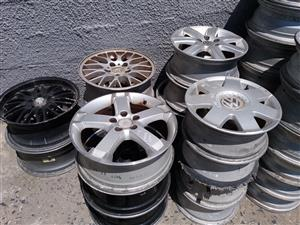 selling Steel Rims , Mags and tyres