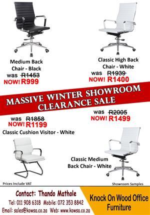 Massive Winter Showroom Clearance Sale!!