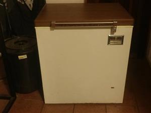 Chest freezer in fair condition still works