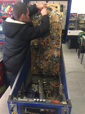 Pinball Machine Repairs, Services, Rentals, Restorations