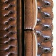 Big specials on full leather Chesterfield couches