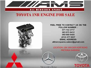 TOYOTA 1NR ENGINE FOR SALE