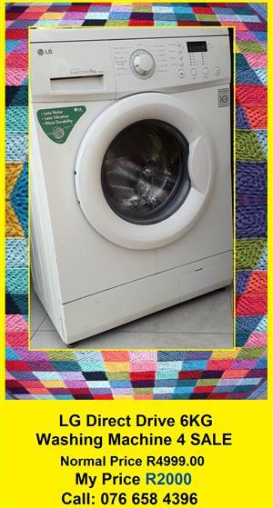 LG 6KG Washing Machine for SALE