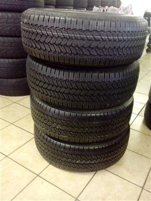 265/70/16 General Grabber R5500 x4 brand new tyres