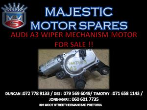 Audi A3 wiper motor mechanism for sale !!