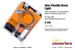 Alva Flexible Braai Light