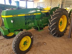 JD  1120  R79 000 (new tyres)   1130    and   1140 R89 000   each.