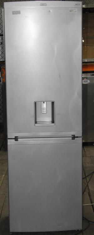 Defy silver fridge with water dispenser S036574A #Rosettenvillepawnshop