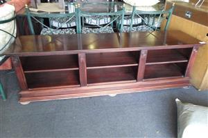 Wooden Plasma Stand - Brown