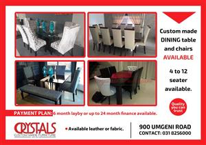 FURNITURE MADE TO YOUR SPEC! QUALITY & WORKMANSHIP GUARANTEED