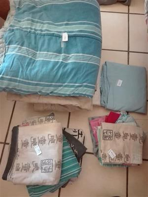Pillow cases and comforters for sale