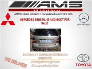 MERCEDES ML 63 AMG BOOT FOR SALE