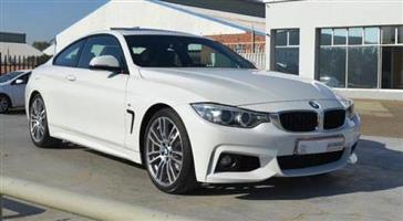 2015 BMW 4 Series coupe 420D COUPE M SPORT A/T (F32)