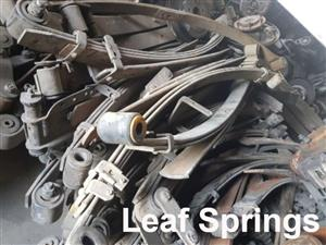 Leaf springs for sale for most makes and models.
