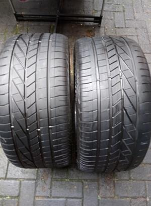 275/40R19 GOODYEAR (RUNFLAT) TYRES FOR SALE