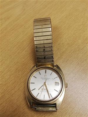 Omega Constellation men's watch (Vintage Collectors item) Still working.
