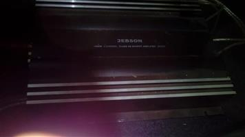 amp and 2subs and radio