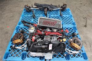 JDM Subaru Wrx Sti V9 EJ207 Engine Turbo dccd trans Diff Rear axles