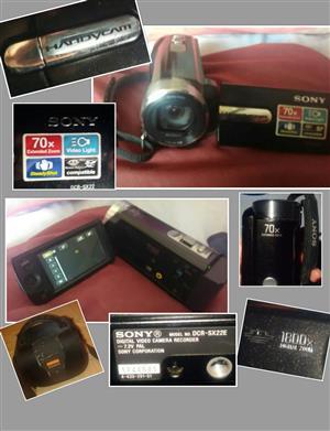 Sony handyman video camera