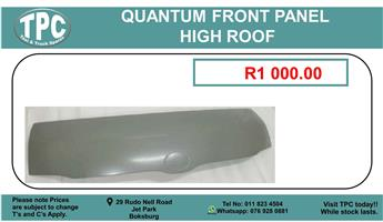Quantum Front Panel Hight Roof For Sale