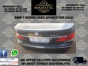 Bmw 7 series used spares for sale