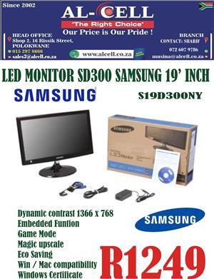Samsung 18.5″ Inch LED Monitor