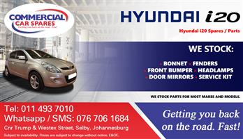 Hyundai I20 2009 Parts and spares for sale