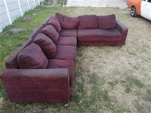 LShaped Couch for sale DELIVERY CAN BE ARRANGED