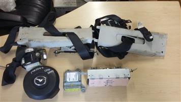 Mazda 2 Complete Airbag Set