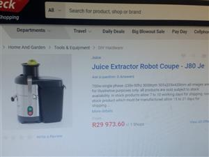 Industrial Juice Exctractor