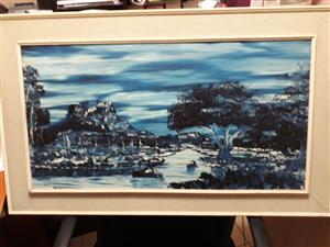 Original St Clare Painting For Sale