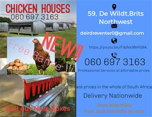 Chicken Houses and Nest Boxes