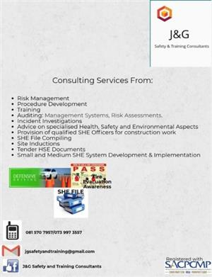 J&G Safety and Training Consultants
