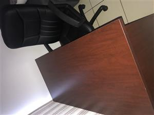 I'm selling my desk and chair