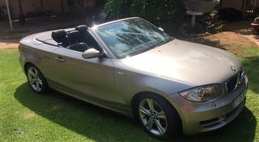 2009 BMW 1 Series 125i convertible Exclusive steptronic