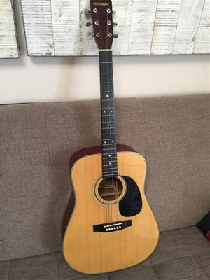 Hohner MW600N Acoustic steel string guitar