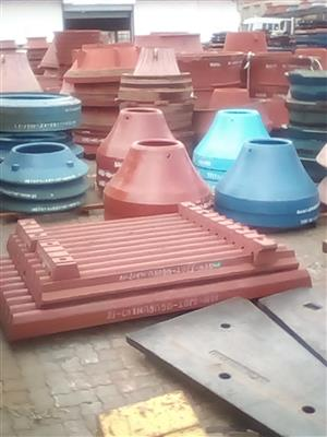 Metso HP300, HP400 Mantles and Spares