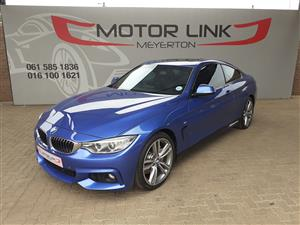 2014 BMW 4 Series 435i coupe M Sport